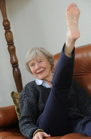 Wilmslow Guardian: Click here to meet the Handforth great-grandmother celebrating her 90th birthday with a charity firewalk.