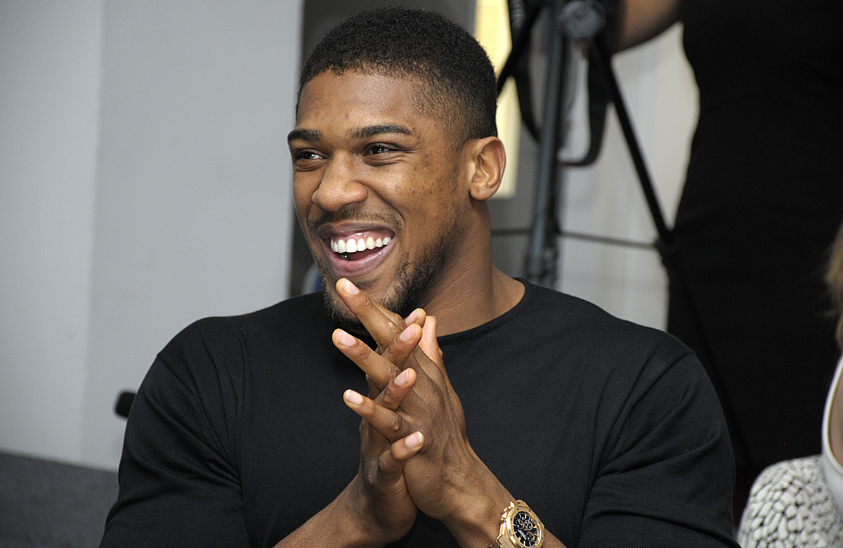 Anthony Joshua. Picture: Mike Boden